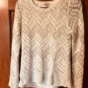 Lucky Brand long sleeved sweater